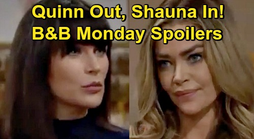 The Bold and the Beautiful Spoilers: Monday, November 2 - Eric Rejects Quinn, Invites Shauna To Move In - Paris Arrives