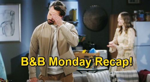 The Bold and the Beautiful Spoilers: Monday, November 23 Recap - Thomas Fights Off Hope Doll - Paris & Zende Get Closer