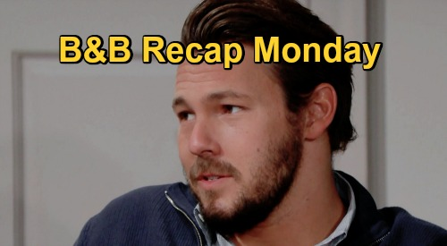 The Bold and the Beautiful Spoilers: Monday, October 12 Recap - Liam Squirms As Steffy & Finn Heat Up - Thomas & Zende Friction