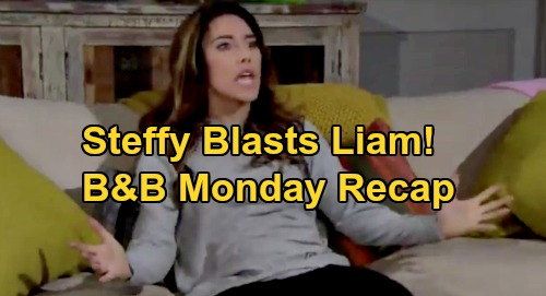The Bold and the Beautiful Spoilers: Monday, September 21 Recap - Liam & Steffy Blowout Fight - Hope & Thomas Find Common Ground