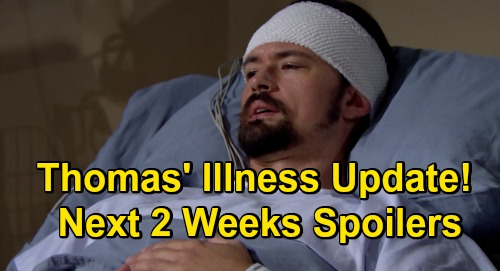 The Bold and the Beautiful Spoilers Next 2 Weeks: Brooke's Blast from the Past – Thomas' Troubling Illness Update