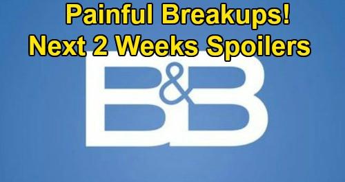 The Bold and the Beautiful Spoilers Next 2 Weeks: Heartbroken Bill Drowns Sorrows – Quinn Celebrates Brooke & Ridge Total Breakup
