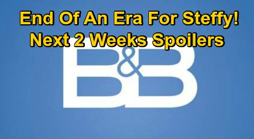 The Bold and the Beautiful Spoilers Next 2 Weeks: Liam Backs Off Steffy, Finn Takes Over - Brooke Suspects Thomas – Quinn's New Digs