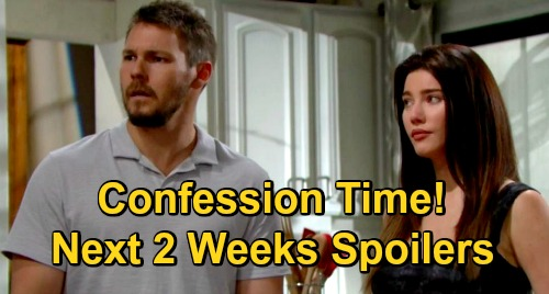 The Bold and the Beautiful Spoilers Next 2 Weeks: Liam & Steffy Confession – Hope Confides in Thomas – Paris Accuses Jealous Zoe