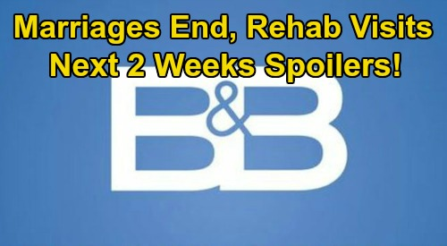 The Bold and the Beautiful Spoilers Next 2 Weeks: Ridge & Brooke Still Married – Game Over for Quinn – Finn Visits Steffy in Rehab