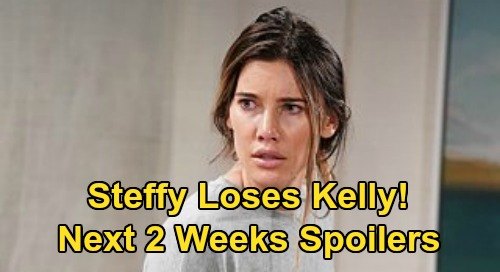The Bold and the Beautiful Spoilers Next 2 Weeks: Steffy Loses Kelly, Physically Attacks Brooke – Drug Intervention Follows