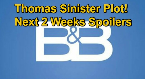 The Bold and the Beautiful Spoilers Next 2 Weeks: Thomas' Sinister Plot – Zende's New Woman – Wyatt Wants Rid of Quinn