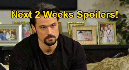 The Bold and the Beautiful Spoilers Next 2 Weeks: Eric's Major Marriage Decision - Thomas Undermines Liam & Bill's Coverup