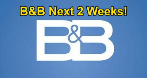 The Bold and the Beautiful Spoilers Next 2 Weeks: Eric's Epiphany – Blast-from-the-Past Visitor – Finn Needs Hope's Help