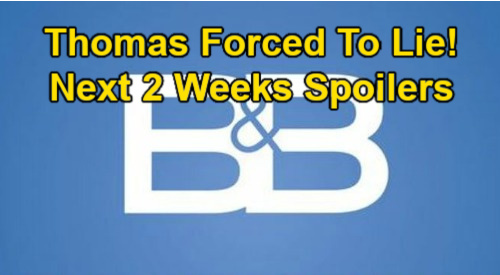 The Bold and the Beautiful Spoilers Next 2 Weeks: Liam & Finn Rivalry Upsets Steffy – Thomas Forced to Lie – Wyatt's Katie Plea