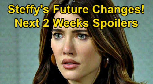 The Bold and the Beautiful Spoilers Next 2 Weeks: Steffy's Future Changes, DNA Results Opened – Here Comes Vinny – Bridget Returns