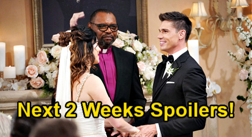 The Bold and the Beautiful Spoilers Next 2 Weeks: Steffy & Finn's Wedding Crasher – Carter's Replacement – Hope's New Job