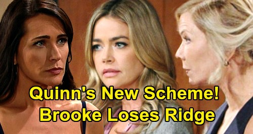 The Bold and the Beautiful Spoilers: Quinn's New Scheme to Help Shauna – Makes Sure Brooke Loses Ridge?