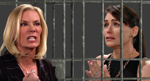 The Bold and the Beautiful Spoilers: Quinn's Past Crimes Come Back to Haunt – Vengeful Brooke Plots to Put Enemy in Prison?