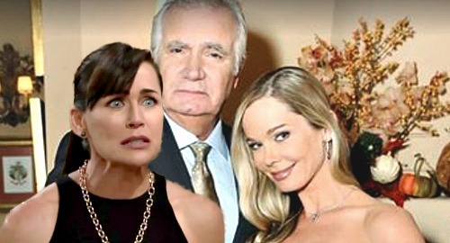 The Bold and the Beautiful Spoilers: Quinn Schemes Herself Out Of Forrester Mansion - Eric Turns To Donna?