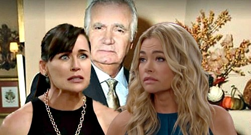 The Bold and the Beautiful Spoilers: Quinn Spies on Shauna the Husband-Thief – Sees Steamy Eric Surprise, Ex-Bestie Makes Move?