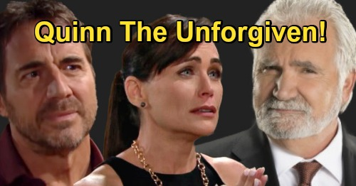 The Bold and the Beautiful Spoilers: Quinn The Unforgiven – Ridge Loses It, Eric Sees Just How Much Damage Wife Caused