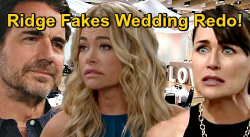 The Bold and the Beautiful Spoilers: Ridge's Do-Over Wedding Trick, Shauna & Quinn Busted – Sneaky Groom Ends Fake Marriage?