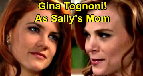 The Bold and the Beautiful Spoilers: Sally Needs Mom, Perfect Time for Gina Tognoni to Join B&B Cast – Spectra Women Reunite?