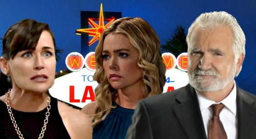 The Bold and the Beautiful Spoilers: Shauna & Eric's Vegas Adventure – Jealous Quinn Fumes Over Getaway & Familiar Strategy?
