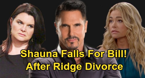 The Bold and the Beautiful Spoilers: Shauna Falls for Bill After Ridge Divorce – Katie's New Competition and Love Triangle?