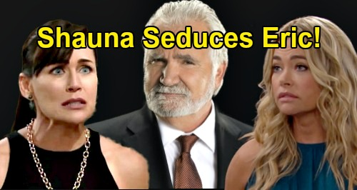 The Bold and the Beautiful Spoilers: Shauna Seduces Eric For Payback - Makes Quinn's Life Even More Miserable?