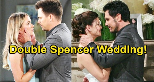 The Bold and the Beautiful Spoilers: Should Bill & Wyatt Have a Double Spencer Wedding – Marry Katie & Flo?