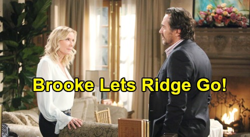 The Bold and the Beautiful Spoilers: Should Brooke Get Over Ridge, Let Shauna Have Hubby – A 'Bridge' Too Far?