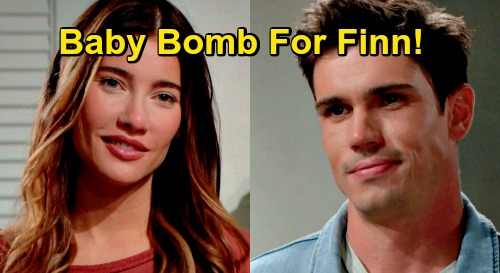 The Bold and the Beautiful Spoilers: Steffy's Baby Bomb for Finn – Jacqueline MacInnes Wood's Pregnancy Written In?