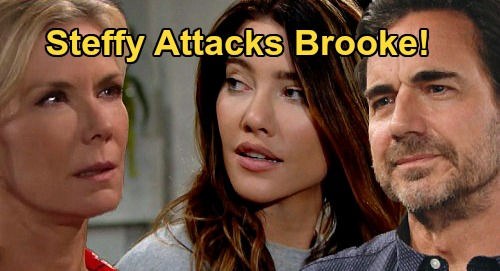 The Bold and the Beautiful Spoilers: Steffy Attacks Brooke, Drugs Bring Danger – Ridge Finds Aftermath of Shocking Confrontation