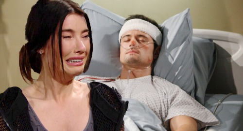 The Bold and the Beautiful Spoilers: Steffy Confesses All to Comatose Thomas – Heartbroken Finn Eavesdrops on Liam Betrayal Bomb?