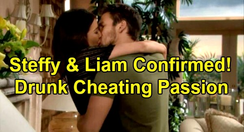The Bold and the Beautiful Spoilers: Steffy & Liam Drunken Passion, 'Steam' Back in Bedroom Confirmed – Finn & Hope Cheated On