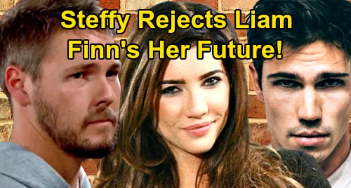 The Bold and the Beautiful Spoilers: Steffy Rejects Liam, Finn's Her Future – Hope's Waffling Husband Shot Down?