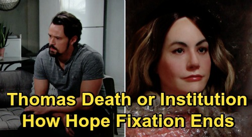 The Bold and the Beautiful Spoilers: Thomas Out of Chances – Death or Psychiatric Hospital, How Final Hope Fixation Ends?
