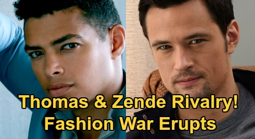 The Bold and the Beautiful Spoilers: Thomas vs. Zende New Fashion Feud – Zoe and Hope Intervene as Showdown Gets Nasty