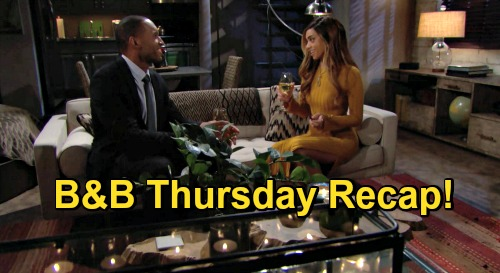 The Bold and the Beautiful Spoilers: Thursday, October 22 Recap - Hope Doll and Thomas Have an Upsetting Conversation