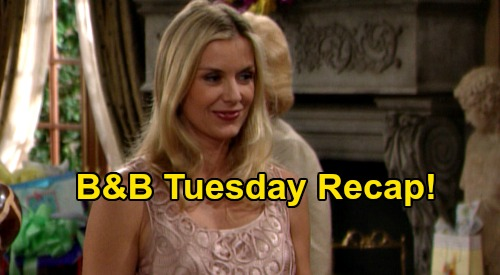 The Bold and the Beautiful Spoilers: Tuesday, July 7 Recap - Bridget Shocked To Overhear Deacon Profess His Love For Brooke