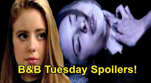The Bold and the Beautiful Spoilers: Tuesday, June 30 - Ivy Shows Thomas Footage of Steffy Killing Aly - Rick & Maya's Wedding