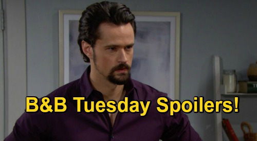 The Bold and the Beautiful Spoilers: Tuesday, November 24 - Liam Witnesses Thomas & Hope Making Love, Shocking Scene