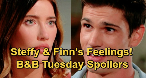 The Bold and the Beautiful Spoilers: Tuesday, October 20 - Steffy & Finn's Love Blooms - Zoe Serenades Zende