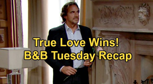 The Bold and the Beautiful Spoilers: Tuesday, October 6 Recap - Shauna Comes Clean - Brooke & Ridge Happily Reunite