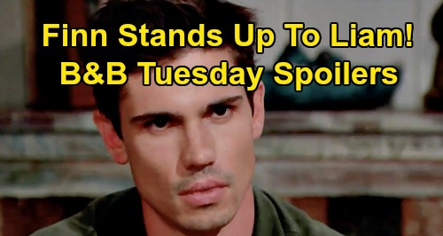 The Bold and the Beautiful Spoilers: Tuesday, September 15 - Steffy Gets Secret Drugs From Vinny - Finn Stands Up To Liam