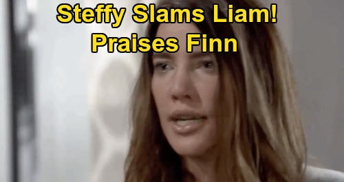 The Bold and the Beautiful Spoilers: Tuesday, September 22 Recap - Steffy Slams Liam, Praises Finn - Thomas Warns Hope 'Steam' Not Over
