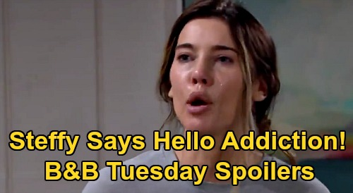 The Bold and the Beautiful Spoilers: Tuesday, September 29 - Steffy Admits She's Addicted - Hope Comforts Thomas