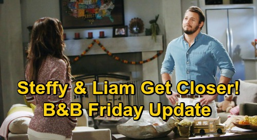 The Bold and the Beautiful Spoilers Update: Friday, November 20 – Thomas' Rapid Mental Decline – Steffy & Liam's Close Moments