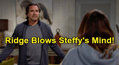 The Bold and the Beautiful Spoilers Update: Monday, August 17 – Steffy Reels Over Ridge's New Wife – Quinn Pushes Brooke's Buttons