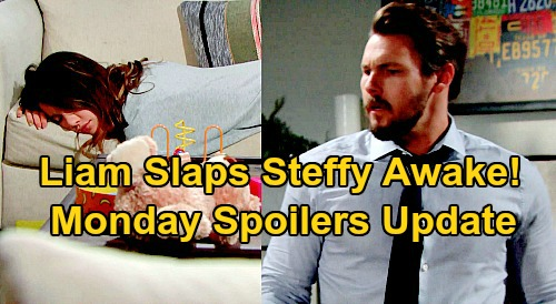 The Bold and the Beautiful Spoilers Update: Monday, September 21 – Liam Slaps Steffy Awake, Finds Pill Proof – Hope Praises Thomas