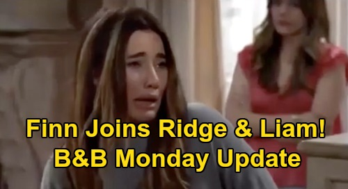 The Bold and the Beautiful Spoilers Update: Monday, September 28 – Steffy Addiction Breaks Finn's Heart – Unites with Liam & Ridge
