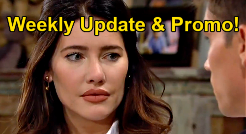 The Bold and the Beautiful Spoilers Update & Preview: Week of July 26 – Steffy Grants Finn's Wish - Quinn & Eric's Fight