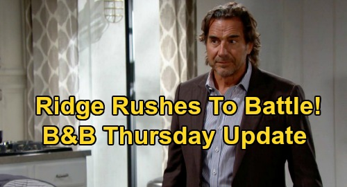 The Bold and the Beautiful Spoilers Update: Thursday, September 24 – Steffy Hits Brooke Where It Hurts – Thomas Alarms Ridge